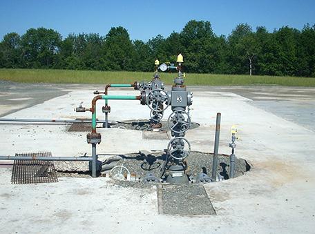 Gas wells