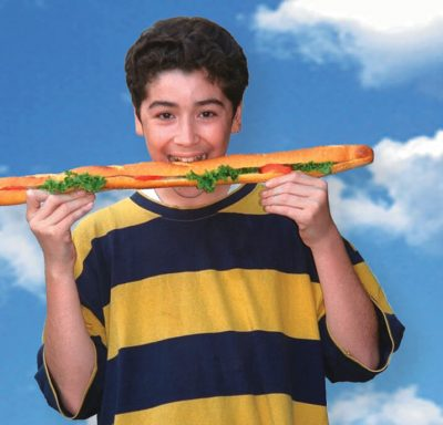 teen with sandwich cropped