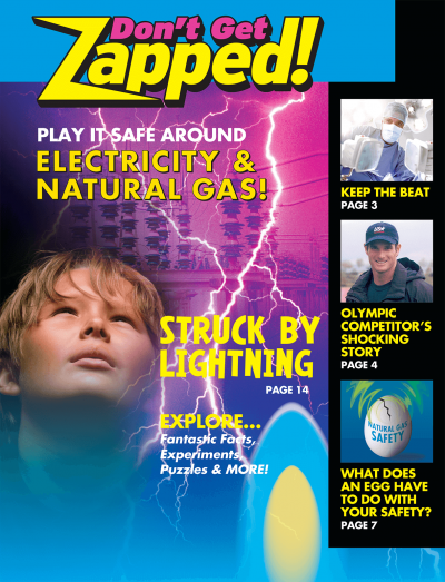 36210 Dont Get Zapped Play It Safe Around Electricity NG lg